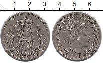 Изображение Монеты Дания 5 крон 1976 Медно-никель UNC-