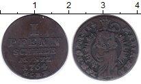 Изображение Монеты Германия Гослар 1 пфенниг 1764 Медь VF