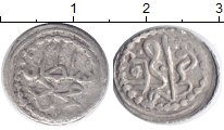 Изображение Монеты Тунис 1 харуб 1739 Серебро VF