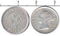 Изображение Монеты Гонконг 5 центов 1889 Серебро XF Виктория