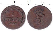 Изображение Монеты Анхальт-Бернбург 1 пфенниг 1823 Медь VF