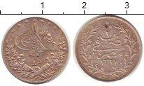 Изображение Монеты Египет 1 кирш 1910 Серебро XF+