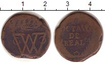 Изображение Монеты Мексика 1/8 реала 0 Медь VF Война за независимос
