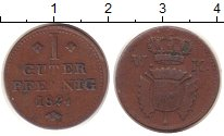 Изображение Монеты Гессен-Кассель 1 пфенниг 1824 Медь XF