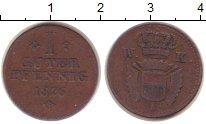 Изображение Монеты Гессен-Кассель 1 пфенниг 1826 Бронза VF