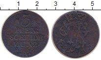 Изображение Монеты Германия Бранденбург 3 пфеннига 1760 Медь VF
