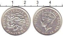 Изображение Монеты Кипр 9 пиастров 1940 Серебро XF Георг VI