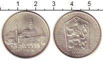 Изображение Монеты Чехословакия 50 крон 1986 Серебро XF Чешский Крумлов
