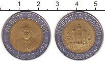 Изображение Монеты Сан-Марино 500 лир 1984 Биметалл XF