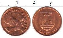 Изображение Монеты Кирибати 1 цент 1992 Медь XF