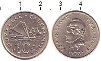 Изображение Монеты Новая Каледония 10 франков 1970 Медно-никель XF