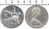 Изображение Монеты Виргинские острова 1 доллар 1973 Серебро Proof- Елизавета II