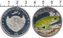 Изображение Монеты Палау 2 доллара 2013 Серебро UNC Цветная.  Мир  лягуш
