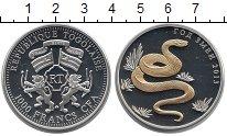 Изображение Монеты Того 1000 франков 2013 Серебро Proof-