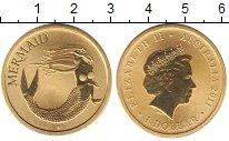 Изображение Монеты Австралия 1 доллар 2011 Латунь UNC Елизавета II. русало