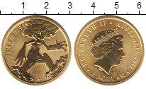 Изображение Монеты Австралия 1 доллар 2011 Латунь UNC Елизавета II.