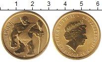 Изображение Монеты Австралия 1 доллар 2011 Латунь UNC Елизавета II. огр