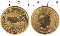 Изображение Монеты Австралия 1 доллар 2010 Латунь UNC
