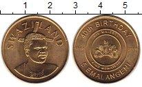 Изображение Монеты Свазиленд 5 эмалангени 2008 Латунь UNC- 40 лет независимости