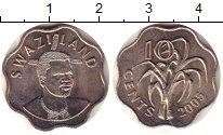 Изображение Монеты Свазиленд 10 центов 2005 Медно-никель UNC- Сахарный тростник