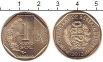 Изображение Монеты Перу 1 соль 2012 Медно-никель UNC-