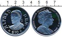 Изображение Монеты Виргинские острова 10 долларов 2008 Серебро Proof