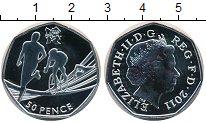 Изображение Монеты Великобритания 50 пенсов 2011 Серебро Proof