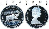 Изображение Монеты Канада 1 доллар 1985 Серебро Proof