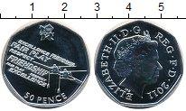 Изображение Монеты Великобритания 50 пенсов 2011 Серебро UNC