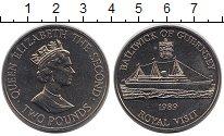Изображение Монеты Гернси 2 фунта 1989 Медно-никель UNC