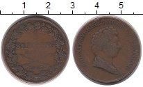 Изображение Монеты Швеция 1 скиллинг 1837 Медь VF Карл XIV