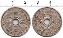 Изображение Монеты Новая Гвинея 1 шиллинг 1935 Серебро XF Георг V