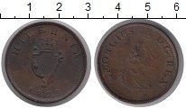 Изображение Монеты Ирландия 1/2 пенни 1805 Медь XF