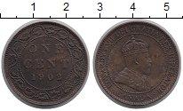 Изображение Монеты Канада 1 цент 1902 Бронза XF