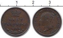 Изображение Монеты Великобритания 1/2 фартинга 1843 Медь XF