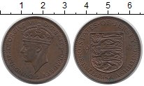Изображение Монеты Остров Джерси 1/12 шиллинга 1947 Бронза XF