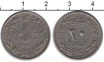 Изображение Монеты Турция 20 пар 1912 Медно-никель XF