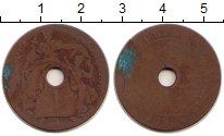 Изображение Монеты Индокитай 1 сантим 1909 Бронза F