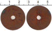 Изображение Монеты Индокитай 1 сантим 0 Бронза F