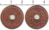Изображение Монеты Индокитай 1/2 цента 1939 Бронза UNC-
