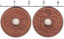 Изображение Монеты Индокитай Индокитай 1939 Бронза UNC-