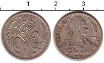 Изображение Монеты Индокитай 10 центов 1940 Медно-никель VF