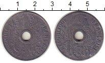Изображение Монеты Индокитай 1 цент 1940 Цинк XF