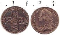Изображение Монеты Великобритания 6 пенсов 1758 Серебро XF-
