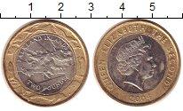 Изображение Монеты Фолклендские острова 2 фунта 2004 Биметалл XF