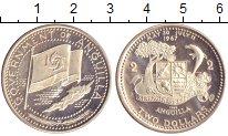 Изображение Монеты Ангилья 2 доллара 1967 Серебро Proof-