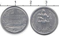 Изображение Монеты Океания 50 сентим 1949 Алюминий UNC