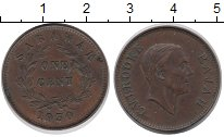 Изображение Монеты Саравак 1 цент 1930 Медь XF