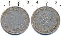 Изображение Монеты Конго 50 франков 1961 Медно-никель VF Протекторат Франции.