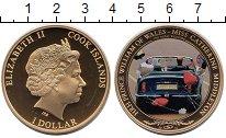Изображение Монеты Острова Кука 1 доллар 2011 Латунь Proof